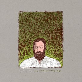 Iron And Wine ‎– Our Endless Numbered Days LP deluxe edition white vinyl