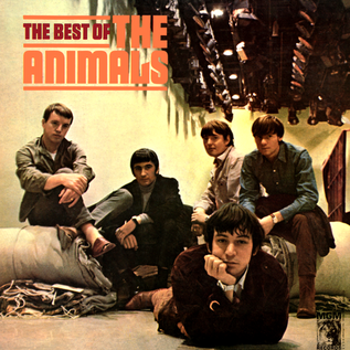 Animals ‎– The Best Of The Animals LP clear vinyl