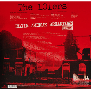 101ers Featuring Joe Strummer -- Elgin Avenue Breakdown Revisited LP red vinyl