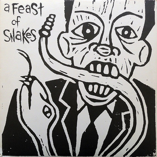 A Feast Of Snakes ‎– A Feast Of Snakes LP