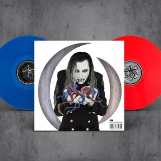 A Perfect Circle -- Eat The Elephant LP red & blue vinyl