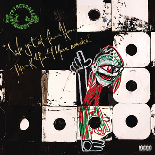 A Tribe Called Quest - We Got It From Here Thank You 4 Your Service LP