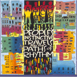 A Tribe Called Quest -- People's Instinctive Travels And The Paths Of Rhythm LP