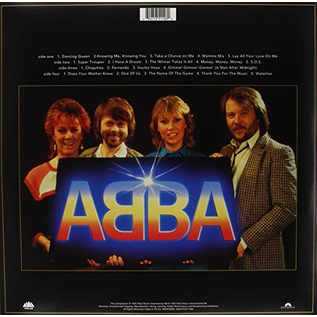 ABBA ‎– Gold (Greatest Hits) LP