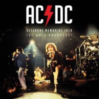 AC/DC -- Veterans Memorial 1978 - The Ohio Broadcast LP