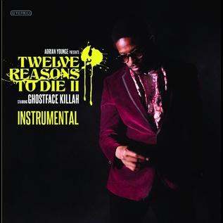 Adrian Younge / Ghostface Killah -- Twelve Reasons To Die II (Instrumental) LP