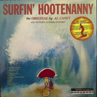 Al Casey – Surfin' Hootenanny LP green vinyl