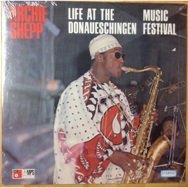 Archie Shepp - Live At The Donaueschingen Music Festival LP