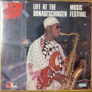 Archie Shepp – Life At The Donaueschingen Music Festival LP