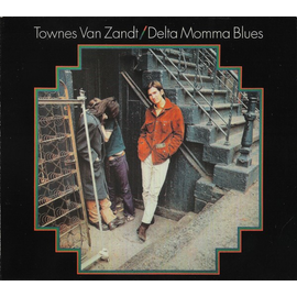 Townes Van Zandt -- Delta Momma Blues LP with download