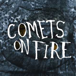 Comets On Fire - Blue Cathedral LP colored vinyl with download