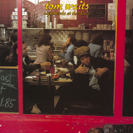 Tom Waits -- Nighthawks At The Diner LP red opaque vinyl