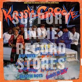 Various - Krush Groove Soundtrack Lp orange & blue vinyl