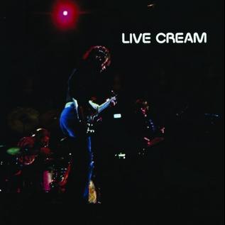 CREAM - LIVE CREAM LP