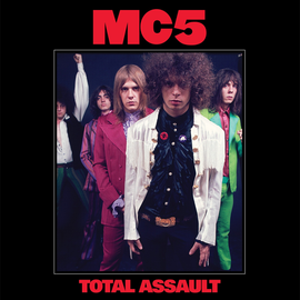MC5 - Total Assault: 50th Anniversary Collection LP (Red White & Blue Vinyl)