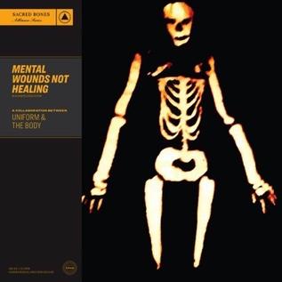 Body Uniform -- Mental Wounds Not Healing LP clear vinyl