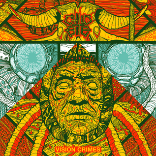 Child Bite -- Vision Crimes / Monomania LP purple/green split color vinyl