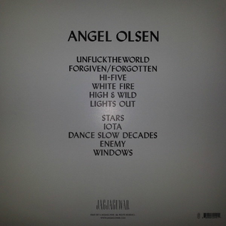 Angel Olsen ‎– Burn Your Fire For No Witness LP with download