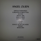 Angel Olsen -- Burn Your Fire For No Witness LP with download