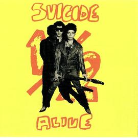 Suicide -- 1/2 Alive LP