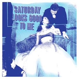 Saturday Looks Good To Me -- Saturday Looks Good To Me LP blue / white marbled vinyl