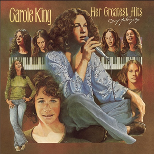 Carole King -- Her Greatest Hits (Songs Of Long Ago) LP