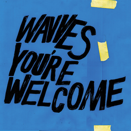 WAVVES - You're Welcome LP blue vinyl