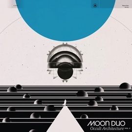 Moon Duo - Occult Architecture Vol. 2 LP white-blue swirl vinyl