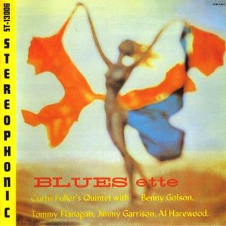 Curtis Fuller's Quintet – Blues-ette LP