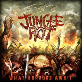 Jungle Rot - What Horrors Await LP yellow vinyl