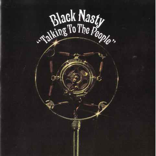Black Nasty -- Talking To The People LP