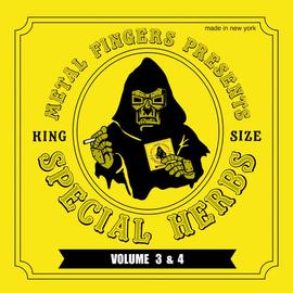 "Metal Fingers (MF Doom) -- Special Herbs Volume 3 & 4- LP with 7"""