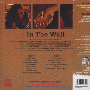 Clint Mansell ‎– In The Wall (Original Motion Picture Soundtrack) LP