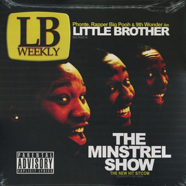 Little Brother -- The Minstrel Show LP gold translucent vinyl