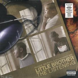 Little Brother -- The Listening LP  white vinyl