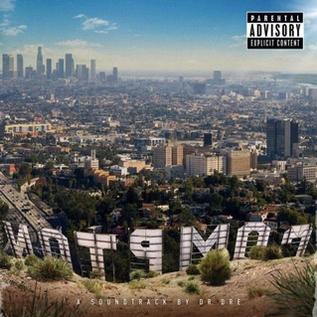 Dr. Dre -- Compton (A Soundtrack By Dr. Dre) LP