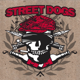 Street Dogs -- Crooked Drunken Sons / Rustbelt Nation 9'' square picture disc