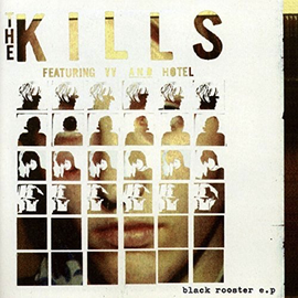 Kills - Black Rooster EP 10'' red vinyl