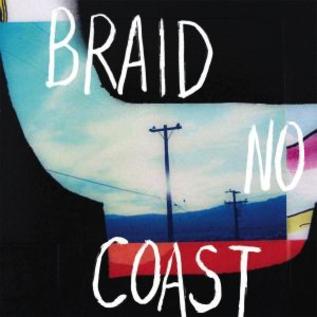 Braid -- No Coast LP opaque orange with black splatter