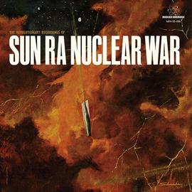 """Sun Ra -- Nuclear War 10"""" red vinyl"""