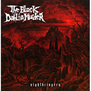 Black Dahlia Murder -- Nightbringers LP red translucent