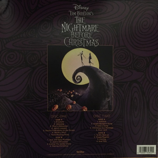 Danny Elfman ‎– Tim Burton's The Nightmare Before Christmas (Original Motion Picture Soundtrack) LP