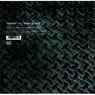 feedtime -- Flatiron b/w Stick Up Jack 7'' with download