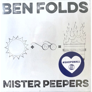 "Ben Folds - Mister Peepers 7"""