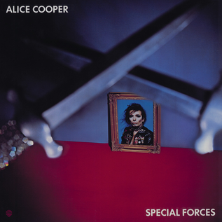Alice Cooper - Special Forces LP white vinyl