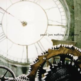 """Pearl Jam -- Nothing As It Seems 7"""" blue vinyl"""