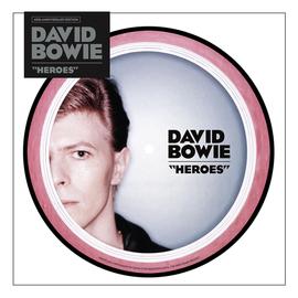 """David Bowie -- ''Heroes'' 7"""""""