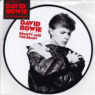 """David Bowie -- Beauty And The Beast 7"""""""