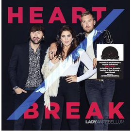"Lady Antebellum - Heart Break 7"" red vinyl"