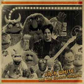 Jack White And The Electric Mayhem -- You Are The Sunshine Of My Life 7''